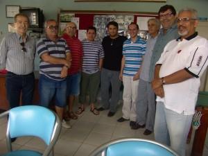 Reunião de intelectuais_Samaroni, Saracura, Baldok, Vanderlei, Robério